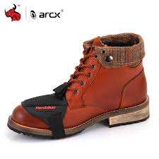 arcx motorcycle boots men shoes moto riding breathable motorbike biker chopper cruiser touring ankle