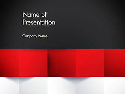 Red White And Blue Powerpoint Templates Red Ppt Template Convencion Info