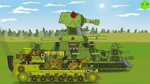 Мультики про танки/KB 44m (phim hoat hinh về xe tăng) - YouTube