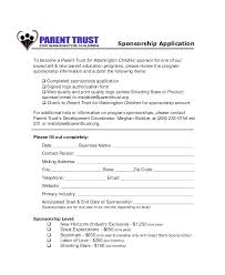 Fundraiser Pledge Form Template Pledge Forms Template Fresh Charity Sponsor Form Sponsorship