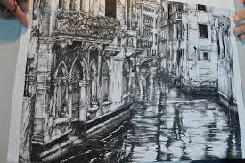 perspective drawings of buildings. 1600x1064 Perspective Of Drawing Building Artwork Venice By LemonKudamono On Drawings Buildings