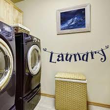 bluelans fashion laundry letters room