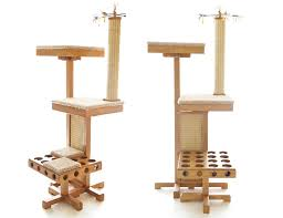 modern cat tree furniture. give your cat their own place to play the power tower comes complete with everything pet will ever need there are 4 separate carpeted areas on modern tree furniture