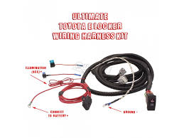 toyota electric locker elocker wiring harness kit by low range off ultimate toyota electric locker elocker wiring harness kit by low range off road tdi elwh