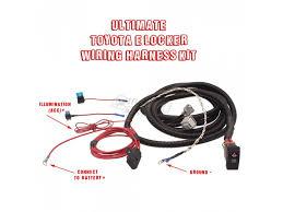 toyota e locker wiring diagram toyota image wiring toyota electric locker elocker wiring harness kit by low range off on toyota e locker wiring