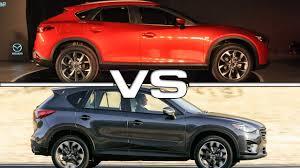 2017 Mazda CX-4 vs 2015 Mazda CX-5 - YouTube