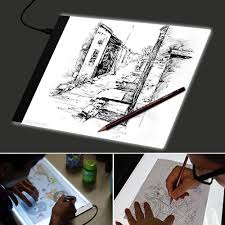 Details About A4 Led Drawing Board Tracing Light Box Tattoo Arts Stencil Ultrathin Lightboxpad