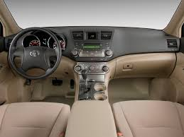Image: 2009 Toyota Highlander FWD 4-door V6 Base (Natl) Dashboard ...