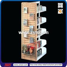 Wooden Book Stand For Display Extraordinary Wooden Book Display Adjustable Book Slot Wall Acrylic Stand Metal