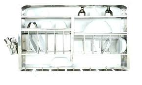 full size of dish dryer rack cabinet italian drying in over sink wall mounted plate office