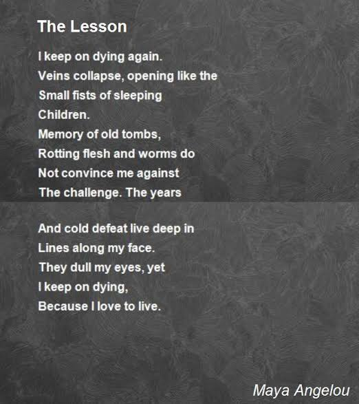poems about life lessons by famous poets