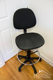 reupholstering an office chair. how to reupholster an office chair3 reupholstering chair v