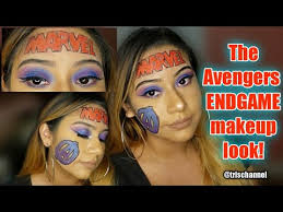 avengers endgame makeup look tutorial