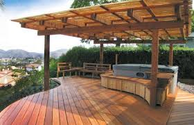 home elements and style medium size backyard deck designs plans design lovely ground level floating fireplace