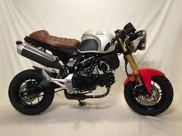 from honda grom to a custom cafe racer new england power sports post