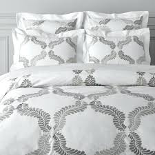 black and grey duvet cover embroidered bedding embroidered bedding black and grey single duvet cover