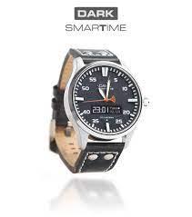 Dark SMARTIME Siyah Kadran / Lacivert Spor Kayışlı Akıllı Saat - Saat -  Akıllı Yaşam