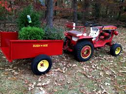 bush hog d4 10 with a bh dt 1 trailer