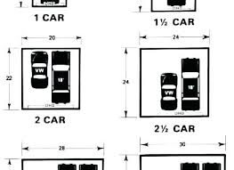 Single Garage Door Sizes Car Width Size Two Metric Standard