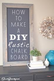 Large Hanging Chalkboard How To Make Your Own Large Hanging Chalkboard Diy Chalkboard