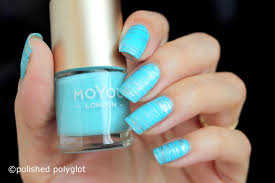 Nail art │ Aqua blue nail design for summer [26GNAI] / Polished ...