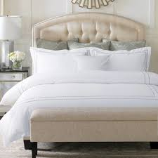 pcs  cotton pure white hotel bedding set embroidery duvet