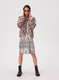 Мини-платье с эффектом тай-дай, SINSAY, WE573-85X