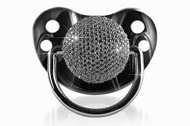 diamond pacifier for the wealthy
