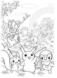 Pokemon Paradijs Kleurplaat Chimchar Snorlax Ponyta Monferno