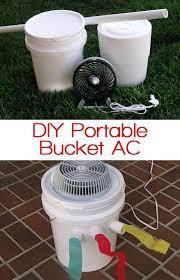 bucket air conditioner ac units