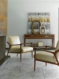 Leather Chairs For Living Room Take Five Warren Leather Chair Lexington Home Brands