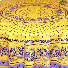 french table linens french country yellow round tablecloth
