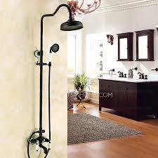 black bathroom fixtures. Designer Oil Rubbed Bronze Black Bathroom Shower Faucets Fixtures R