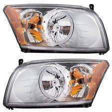 dodge caliber headlights 07 12 dodge caliber set of headlights fits dodge caliber