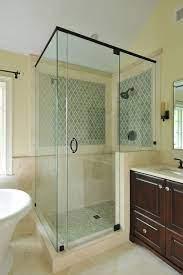 frameless glass shower door ideas