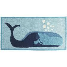 whale bath rug grey whale bath mat