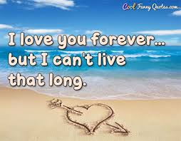 Long Quotes About Love Custom I Love You Forever But I Can't Live That Long