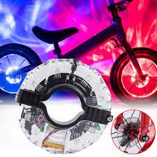 18 LED <b>Colorful Bicycle Lights</b> Cycling Spoke Wheel Lamp Bike ...