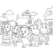 Small Picture Backyardigans Coloring Pages 360ColoringPages