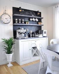 Decorating: Bright Color Coffee Station House - Coffee Station Ideas