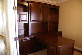 custom home office furnit. built in partner desk custom las vegas home office furnit
