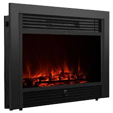 embedded 28 5 electric fireplace insert heater log flame with remote control 1 of 12only 1 available see more