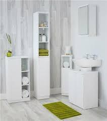 modern white gloss bathroom furniture