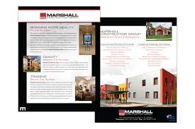 business to business marketing flyers stephenson marketing construction company orlando brochure