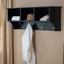Shelf And Coat Rack Wall Coat Rack With Shelf 50