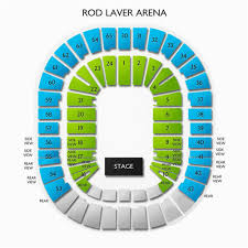 Seating Map Air Canada Centre Thorough Rod Laver Concert