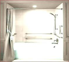 how to install handicap bars in bathroom where place grab shower stall outstanding moen bar installation