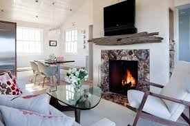rustic wood fireplace surrounds living room beach style with on fireplace makeover after the lettered cottage