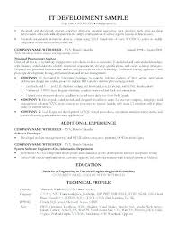 Sample Resume Formats For Experienced Stunning Resume Format For 48 Year Experienced Software Engineer In Java Best
