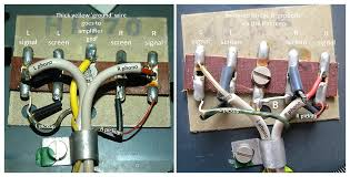 i have committed a crime against lenco page general lenco amplifier ground terminal or if the lenco has the bridging wire ered from the centre tab to one of the phono screens see right hand photo